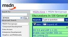 Portions of the Microsoft Developer Network site don't set a default background color