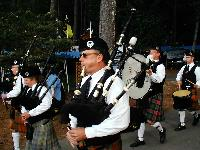 Bagpipers on Parade
