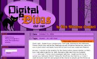 Halloween Digital Divas Theme