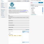 WordPress 2.7 User Interface