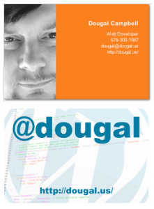 Dougal Business Card