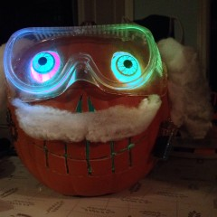 Mad Scientist Pumpkin